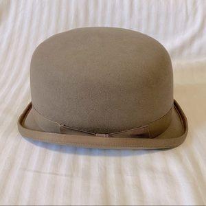 DeRegnaucourt Ltd Equestrian Derby Hat, Brown